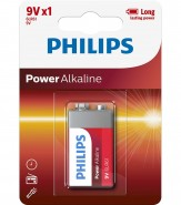 Baterie Philips 9V POWER ALKALINE